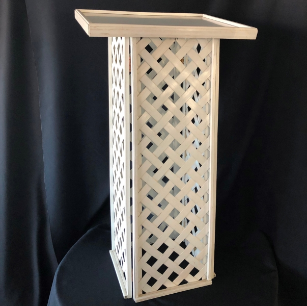 wicker register stand for rent lawrence sunflower rental topeka blue springs kansas missouri