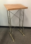 gold metal register stand for rent lawrence sunflower rental topeka blue springs kansas missouri
