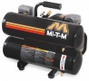 Mi-T-M AC1-HE02-05M1 Single Stage 5-Gallon 5 CFM Electric Air Compressor for rent sunflower equipment rental topeka lawrence blue springs kansas