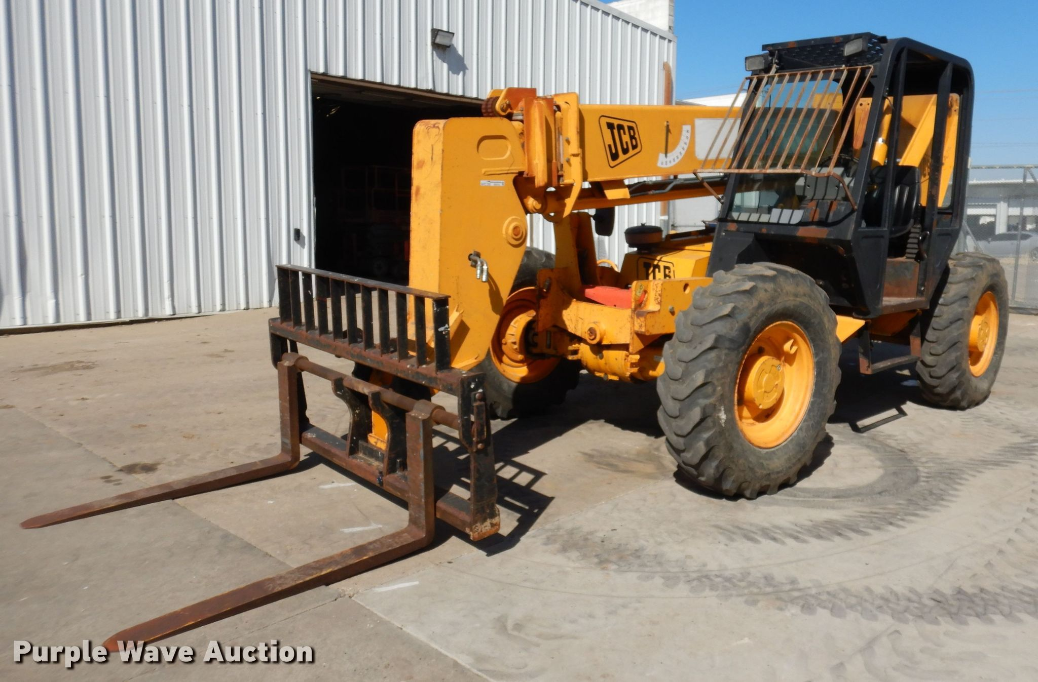 2004 JCB 506CHL telehandler for sale or rent sunflower equipment rentals topeka lawrence kansas blue springs missouri