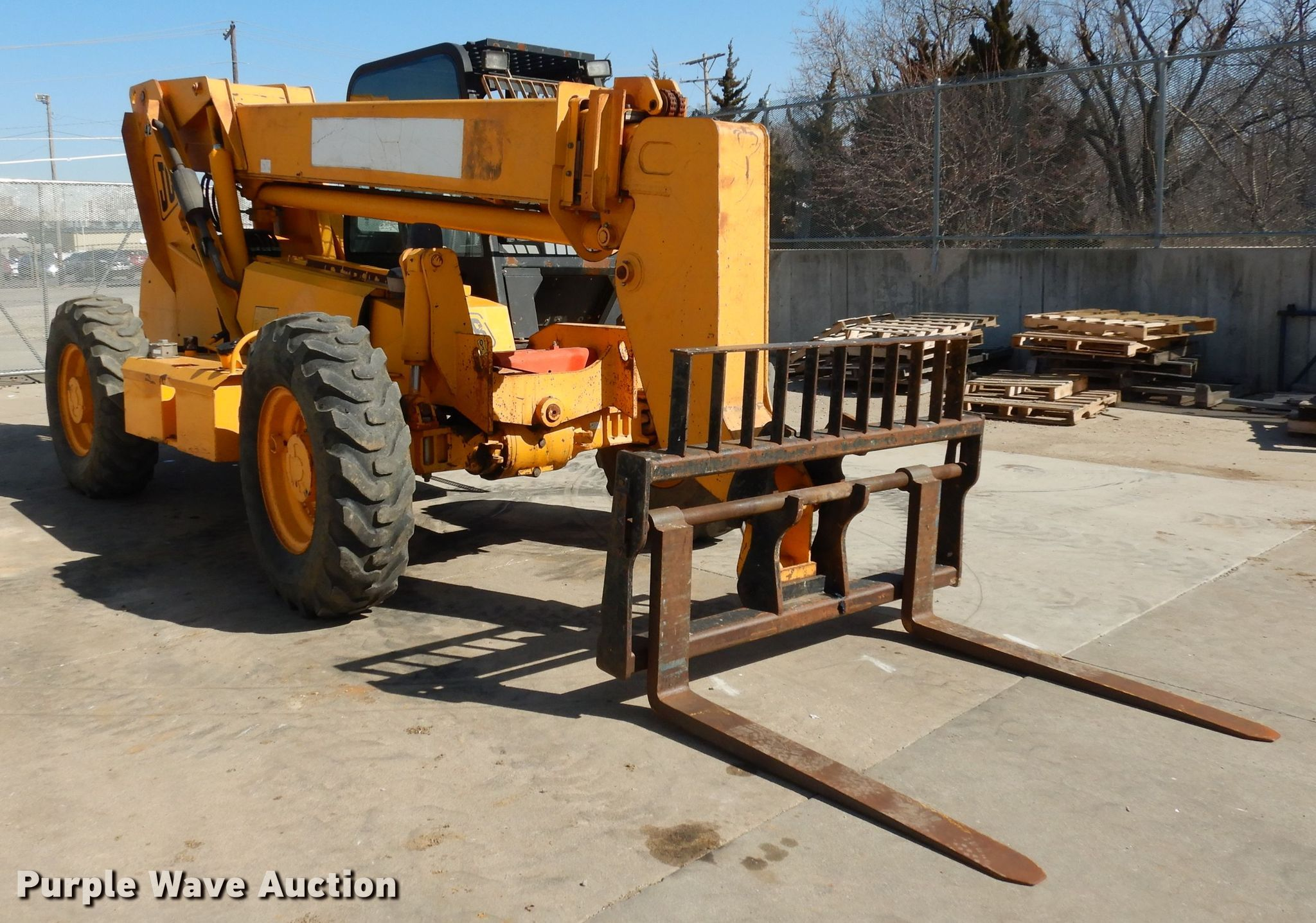 2004 JCB 506CHL telehandlerfor sale or rent sunflower equipment rental topeka lawrence kansas blue springs missouri