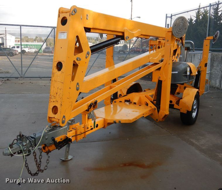 Haulotte 4527A boom lift for sale or rent sunflower equipment rentals topeka lawrence kansas blue springs missouri