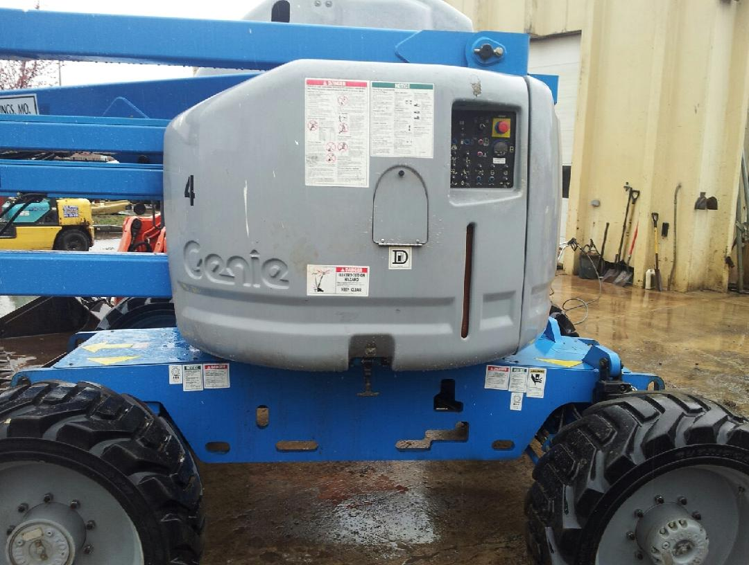 Genie Z45/25J Articulating Man Lift for sale or rent sunflower equipment rental topeka lawrence blue springs kansas missouri