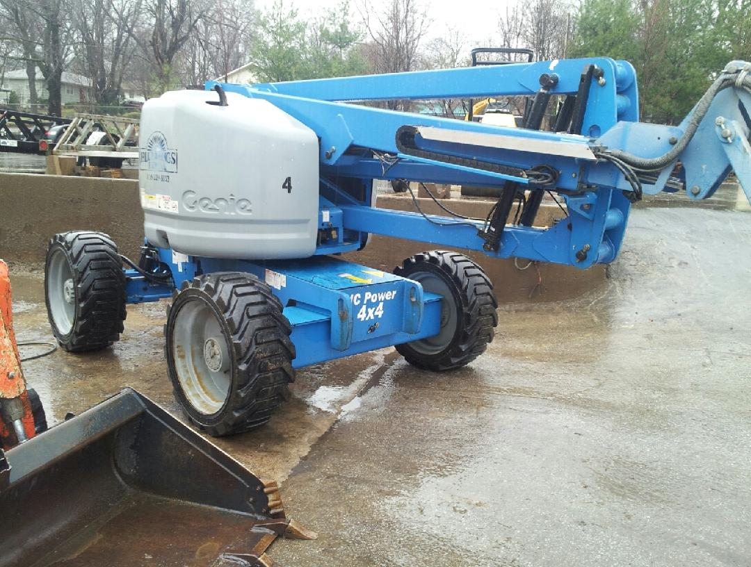 Genie Z45/25J Man Lift for sale or rent sunflower equipment rental topeka lawrence blue springs kansas