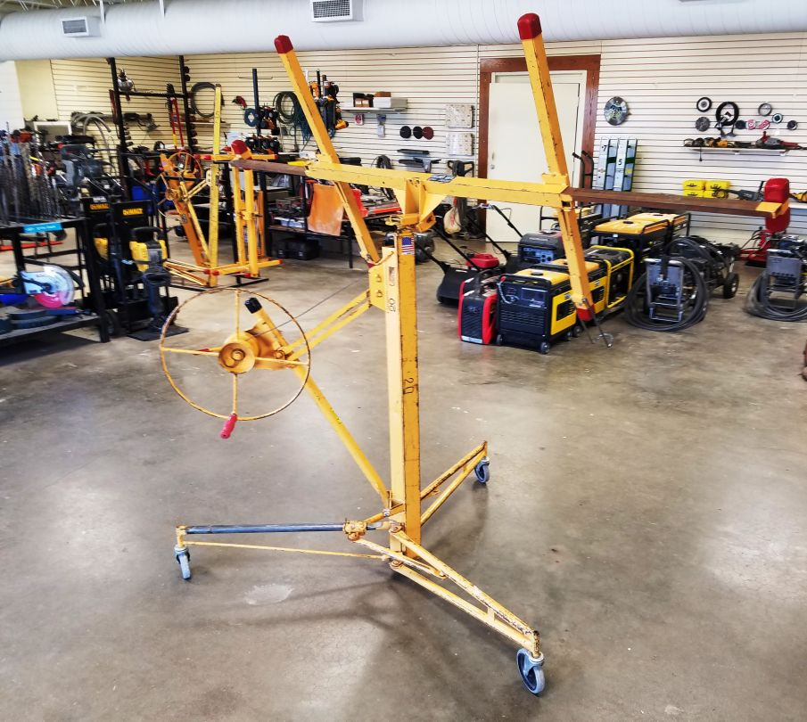 Telpro Drywall Lift Sheet Rack Jack for sale or rent sunflower equipment rental topeka lawrence blue springs kansas missouri