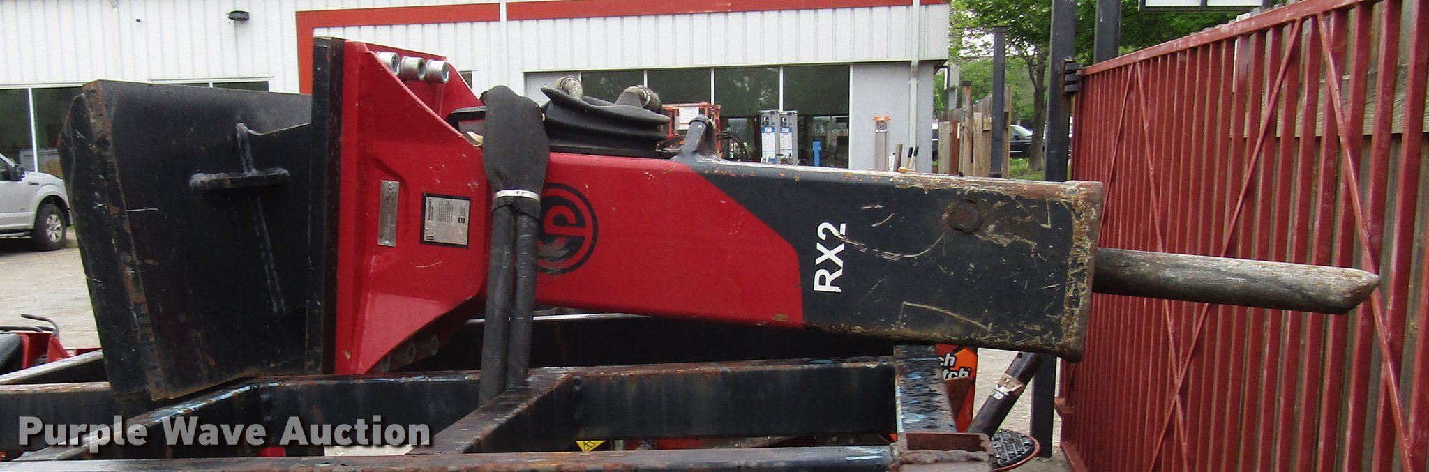Chicago Pneumatic RX2 Concrete Breaker for sale or rent sunflower equipment rentals topeka lawrence kansas blue springs missouri