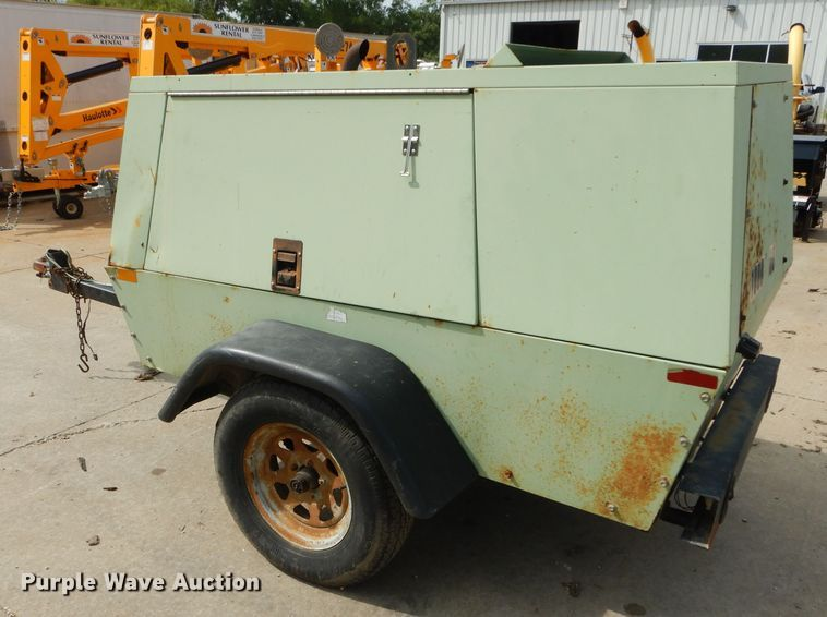 tow behind compressor for sale or rent sunflower equipment rental topeka lawrence kansas blue springs missouri