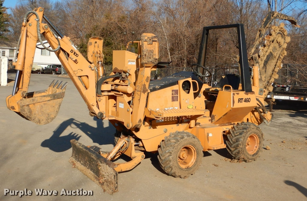 2006 Astec RT460 Trencher for sale or rent sunflower equipment rentals topeka lawrence kansas blue springs missouri