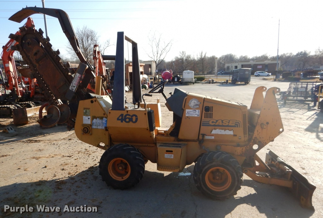 1998 Case 460 trencher for sale or rent sunflower equipment rentals topeka lawrence kansas blue springs missouri