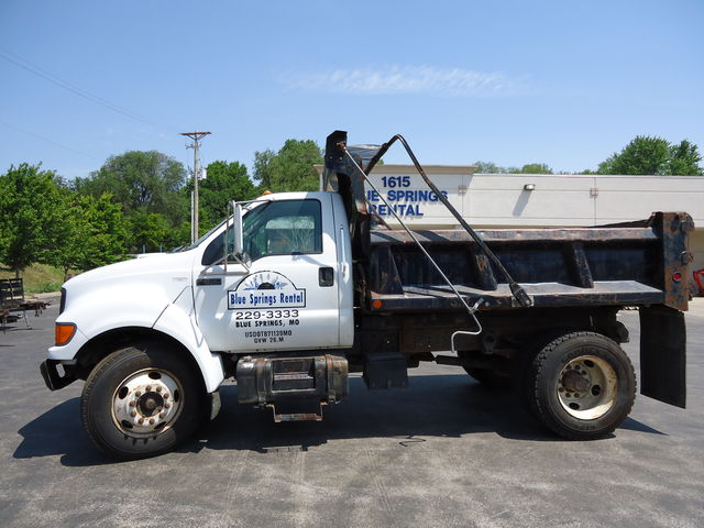 ford dumptruck for sale or rent sunflower equipment rental topeka lawrence blue springs kansas