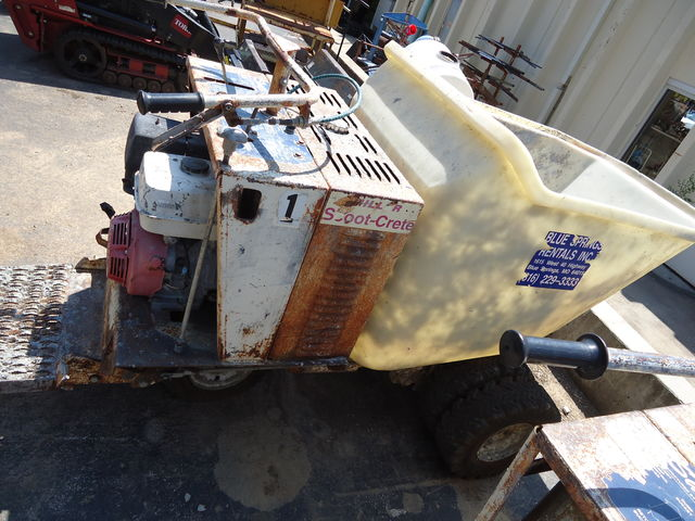 Miller concrete power buggy for sale or rent sunflower equipment rental topeka lawrence blue springs ks