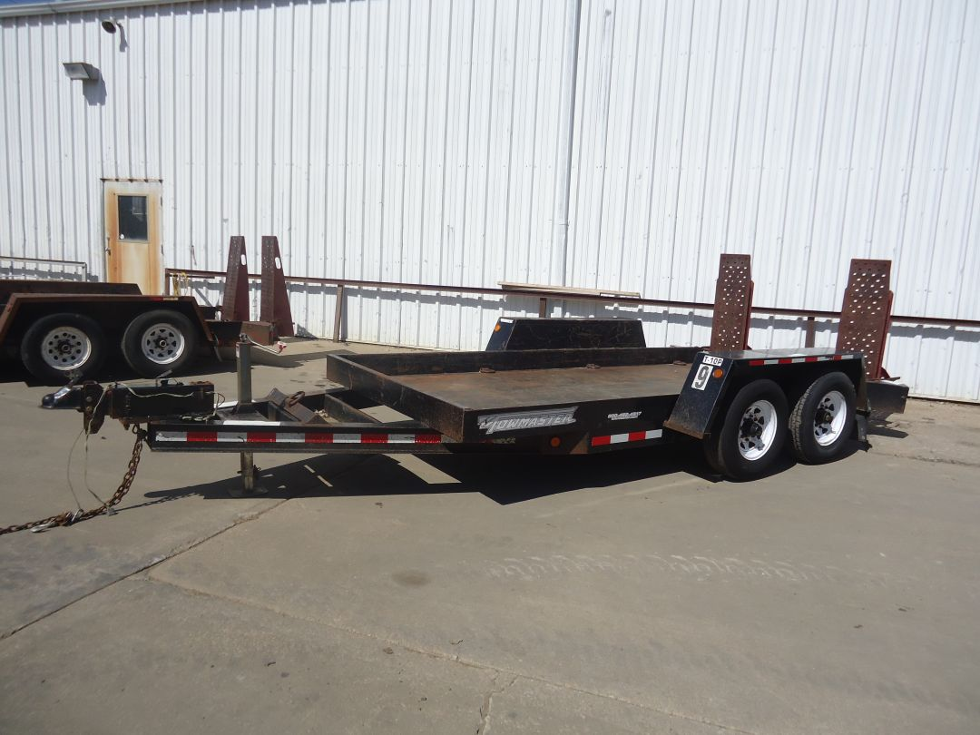"Towmaster T10 6'5""x14' Equipment Trailer for sale or rent sunflower equipment rental topeka lawrence blue springs kansas missouri"