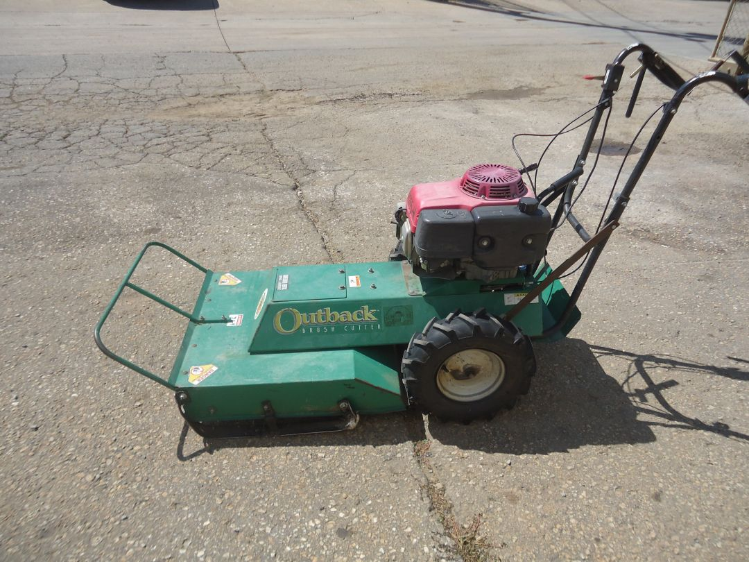 Billy goat Outback brush cutter for sale or rent sunflower equipment rental topeka lawrence blue springs kansas missouri