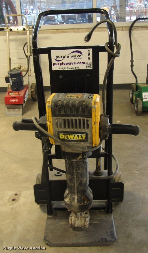 DeWalt D25980 jack hammer for sale or rent sunflower equipment rentals topeka lawrence kansas blue springs missouri