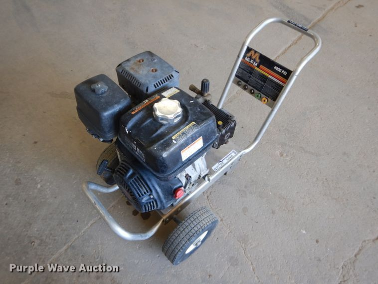 Mi-T-M pressure washer for sale or rent sunflower equipment rentals topeka lawrence kansas blue springs missouri