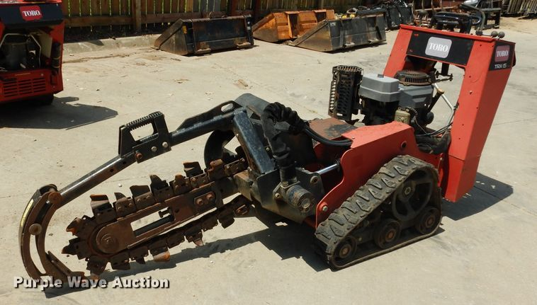 Toro 15 Trencher for sale or rent sunflower equipment rentals topeka lawrence kansas blue springs missouri